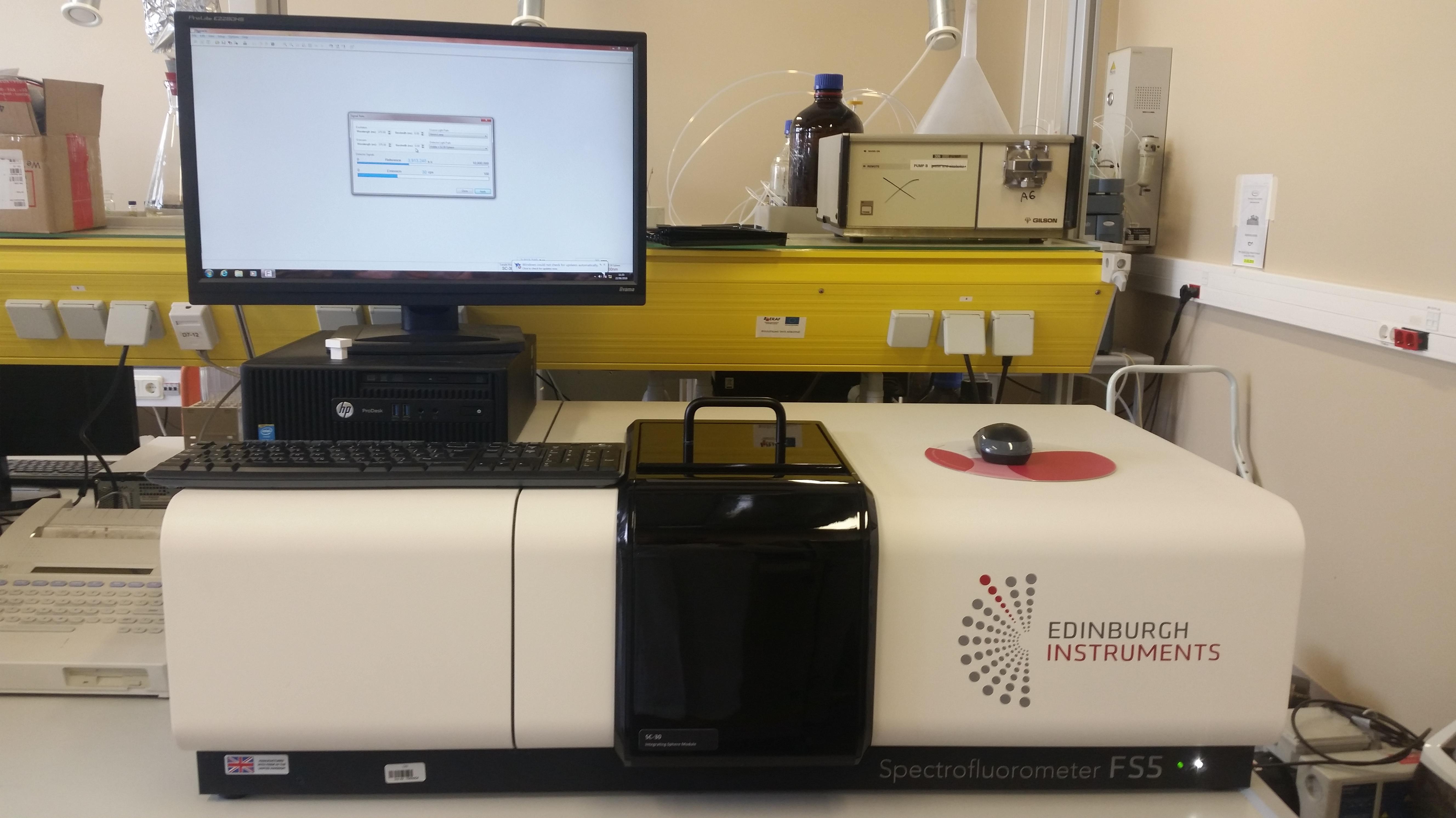 Spectrofluorometer FS5